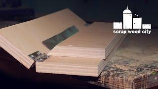DIY sheet metal bending jig
