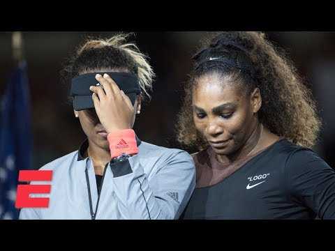 Xxx Mp4 FULL 2018 US Open Trophy Ceremony With Serena Williams And Naomi Osaka ESPN 3gp Sex