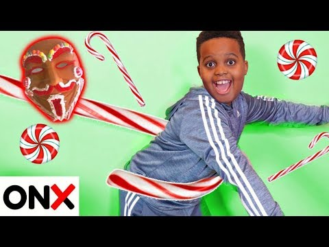 Xxx Mp4 Shiloh And Shasha OUTSMART Gingerbread Man 39 S CANDY CANE Onyx Kids 3gp Sex