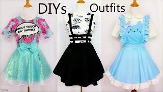 3 Cool&Creative DIY Outfits: DIY Mint Shimmering Skirt+Bandage Suspender Skirt+Cat Maid Costume