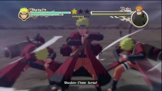 Naruto: Ultimate Ninja Storm 2 - Sage Naruto/6-Tails vs Pain Pt 1/2 HD