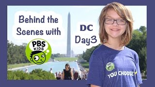 Behind the Scenes with PBS kids in Washington DC!