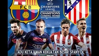 Atletico Madrid vs FC Barcelona | 2016 HD Full Match