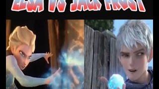 La dura batalla de Elsa contra Jack Frost