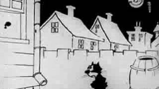Felix the cat finds out