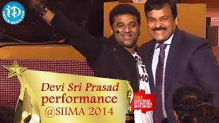 Chiranjeevi Dance for DSP's Shankar Dada MBBS Song @SIIMA 2014