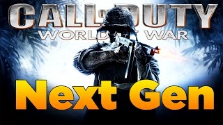 Next Gen Call of Duty World at War Gameplay (CoD WAW Xbox One)