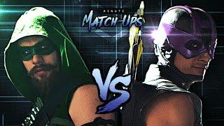 Green Arrow Vs Hawkeye | Minute Match-Ups - Episode 2