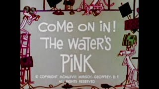 Pink Panther: COME ON IN! THE WATER'S PINK (TV version, laugh track)