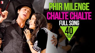 Phir Milenge Chalte Chalte - Full Song - Rab Ne Bana Di Jodi | Shah Rukh Khan