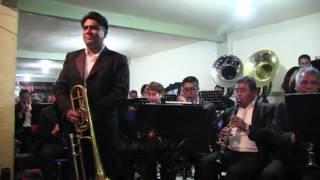 Banda de Tepetitla La Cucaracha Variaciones Para Trombon