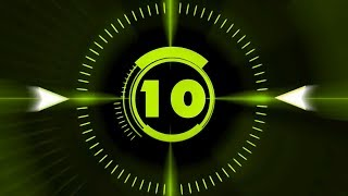 Countdown Timer ( v 212 ) 10 sec with Sound effects and Voice HD!