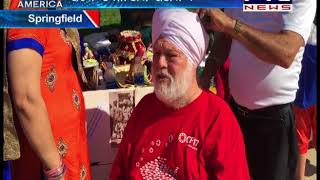 Sikhs Participate With Other Cultures in Springfield Ohio CultureFest 2017