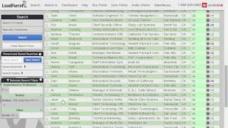 LeadFerret 101 - Search - Target - Download Free B2B Records.