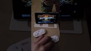 Mametendo switching!  Sf3 : TRD strik  ( Android cellphone) 2 pads bluetooth (8bitdo)