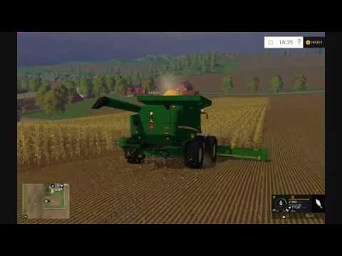 Farming Simulator 2015 John Deere Corn Harvest HD