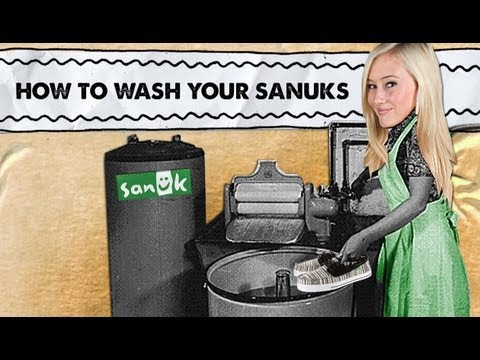 Sanuk Presents: How to Wash your Sanuks - The Waterfall