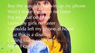 Glee Telephone with Lyrics NEW SONG