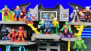 Imaginext Justice League Holds Tryouts Injustice League Joker Bane Battles Batman
