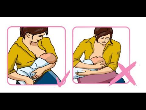Menyra e re se si duhet ti jap nena gji femijes