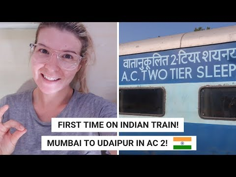 Xxx Mp4 16HRS MUMBAI TO UDAIPUR IN 2AC First Time On An Indian Train India Train Vlog 3gp Sex