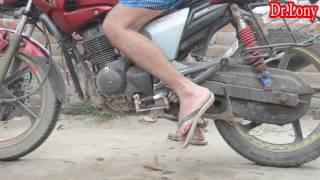 Bangla Funny Motorcycle Stand Comedy | Bangla Funny Video | Dr Lony Bangla Fun