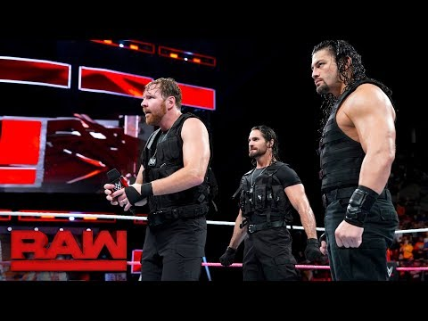 Xxx Mp4 The Shield Arrive On Raw Looking For A Fight Raw Oct 16 2017 3gp Sex