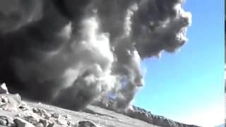 Nueva explosión en el volcán Ubinas