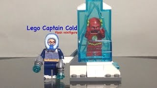Lego Captain Cold DC Flash Custom Minifigure