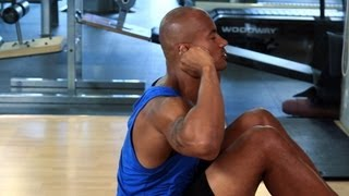 How to Do a Sit-Up Properly   Gym Workout