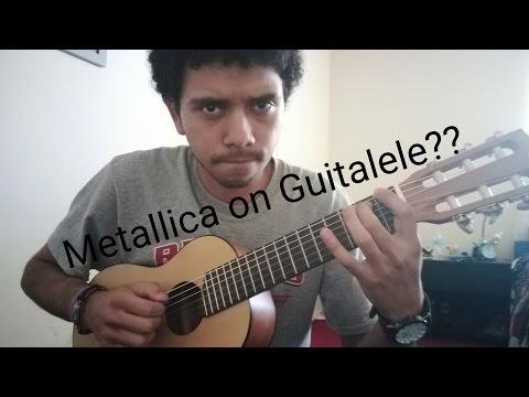 Classic Metallica riffs on guitalele