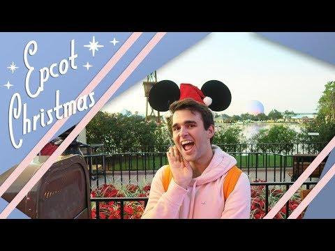 An Epcot Christmas | Festival of the Holidays | Walt Disney World Vlog | December 2017 | Adam Hattan