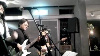 The All Your Love Blues Band in Cafe Fadette 「モリアガールズ and 歌う U-zo」