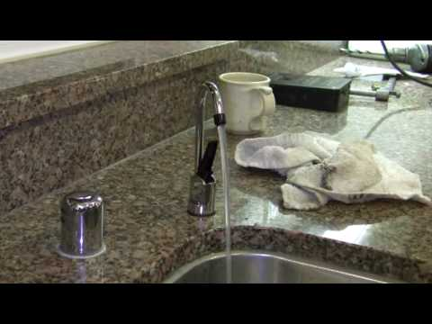 How to install an  undersink water filter