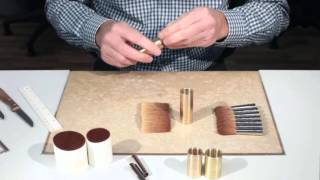 ZAHN brush head production - brushes made in Germany