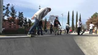 Kedada de los riders de tuskate  con los de freestyle shop en skatepark martorell