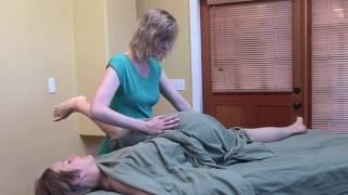 Thai Massage Leg Sequence w/ Draping -