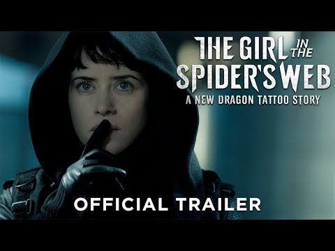 Xxx Mp4 THE GIRL IN THE SPIDER S WEB Official Trailer 2 HD 3gp Sex