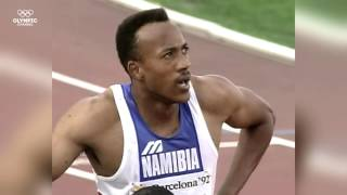 Frankie Fredericks -  A Namibian Gentleman