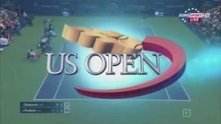 Federer vs Djokovic Us Open 2015