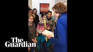 Dianne Feinstein rebuffs young climate activists