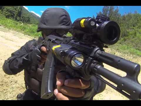 Primer Fusil AK 103 Ensamblado en Venezuela