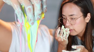 People Try To Make Oobleck Fluid