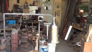 Blacksmithing - Forging a Door Bell and Bracket For The Shop