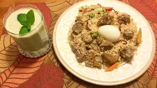 Restaurant style Biryani /Bangladeshi Mutton Biryani- by Shima