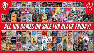 All 100 Switch Games on Sale for Black Friday 2019! | BEST Black Friday Nintendo Switch Deals