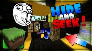 Dostáváme Rage jak něco !! - Minecraft - Hide and seek w/ Porty, N3ro   PVNST
