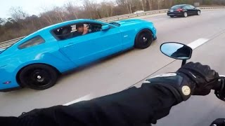 Motovlogger Madness - Smurf Rides!