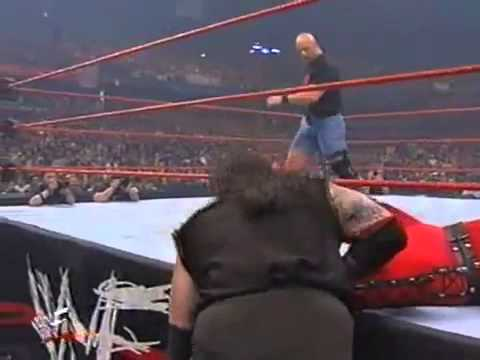 WWF Undertaker Vs Kane With Stone Cold As Guest Referee WWF Championship Judgement Day 1998