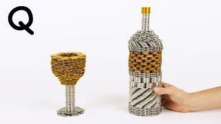 Cool and Simple Figures out of Coins Without Glue